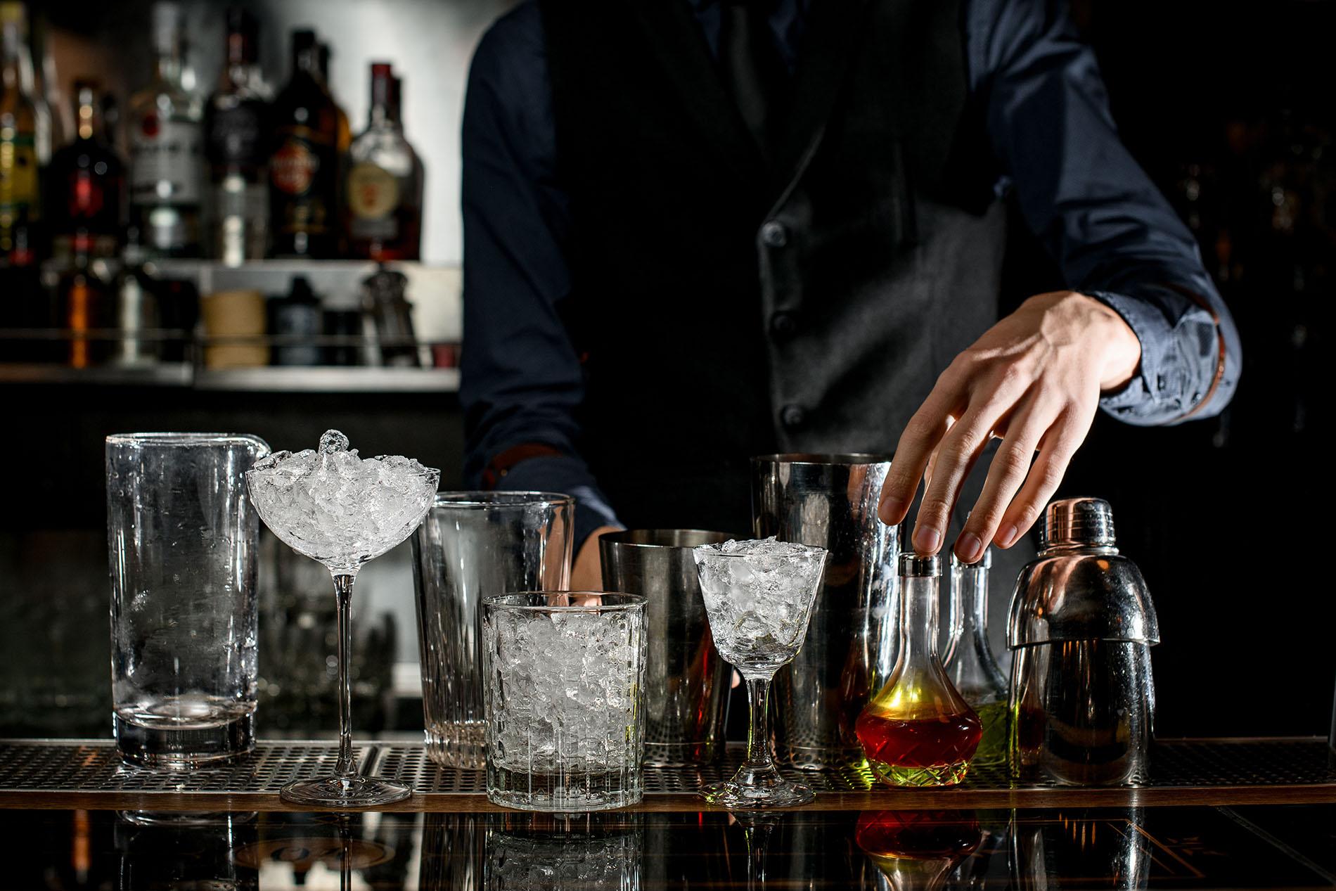 Cocktail-/Vollservice-Bar